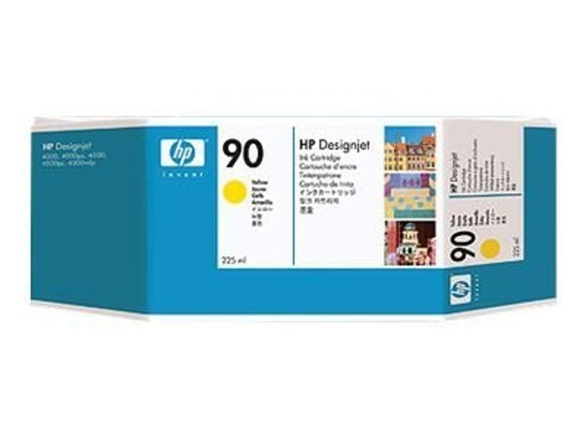 HP Blæk Gul No.90 - DJ 4000 225 ML