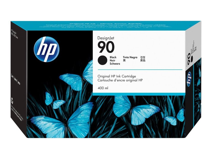 HP Muste Musta No.90 - DJ 4000 225 ML