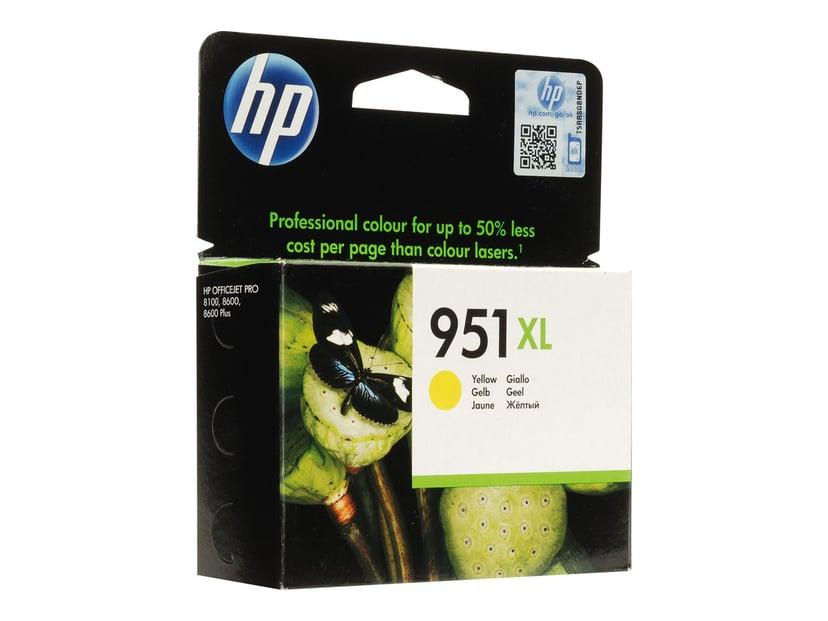 HP Bläck Gul No.951XL - Pro 8100