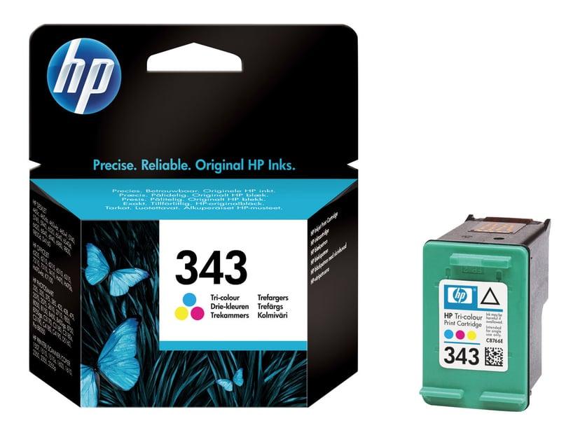 HP Muste Väri No.343