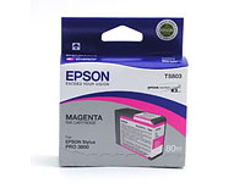 Epson Bläck Magenta T5803 - PRO 3800