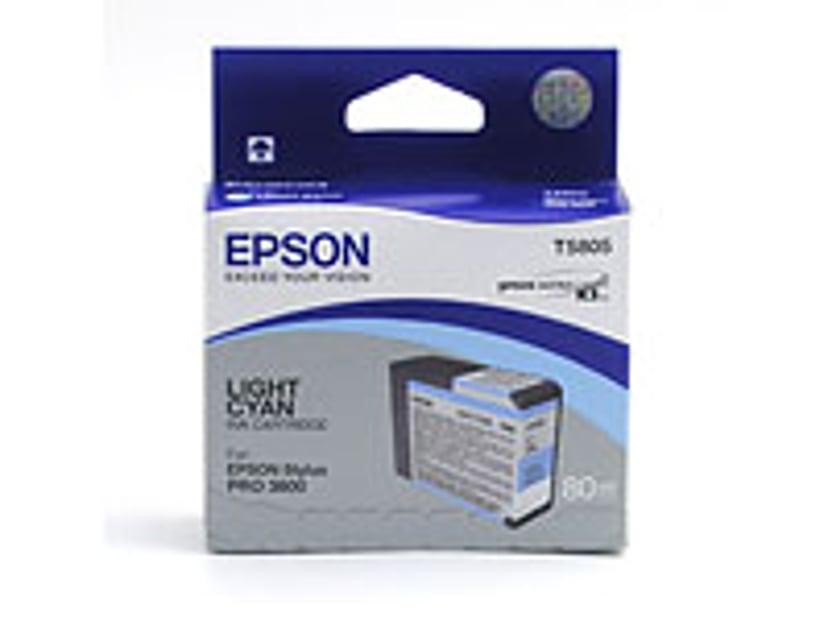 Epson Blæk Ljus Cyan T5805 - PRO 3800