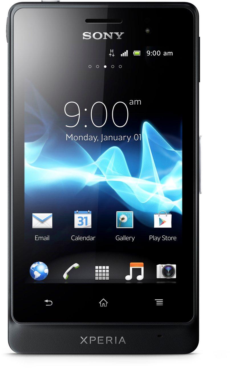 Sony XPERIA go 8GB Svart