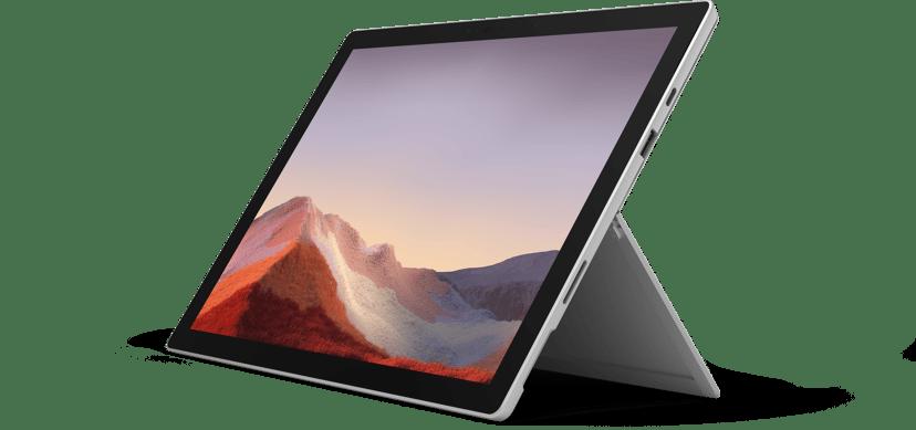 """Microsoft Surface Pro 7 för företag Platinum Core i7 16GB 1024GB SSD 12.3"""""""
