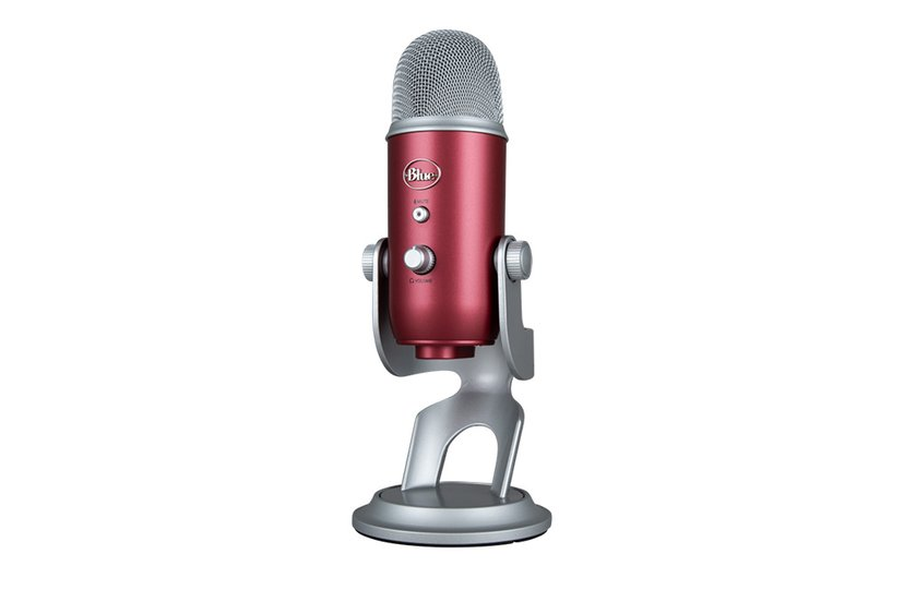 Blue Microphones Yeti USB Steel Red
