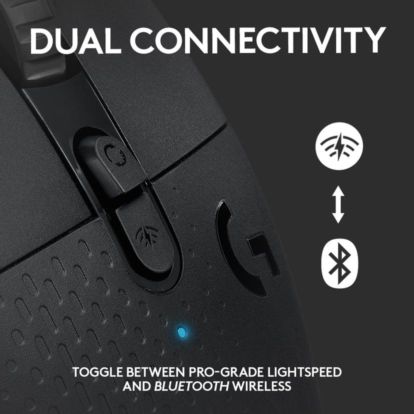 Logitech Gaming Mouse G604 Sort Mus Trådløs 16,000dpi