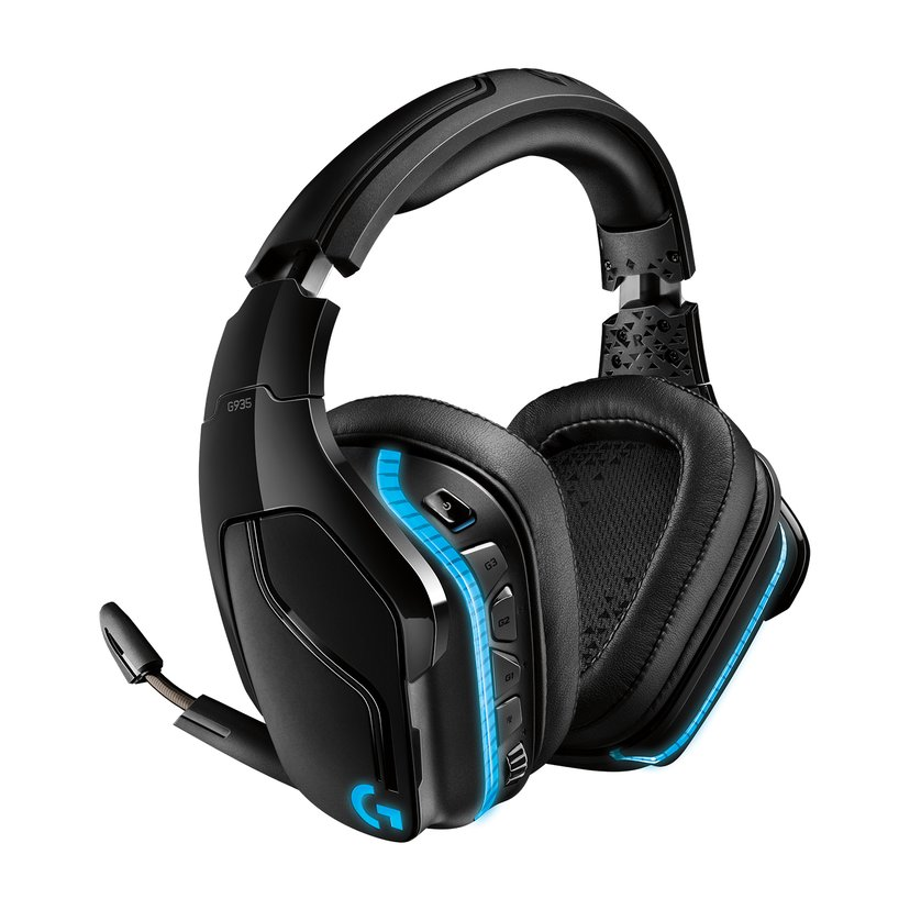 Logitech Gaming Headset G935 Blå, Svart