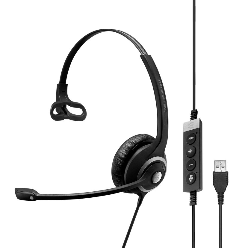 EPOS | SENNHEISER IMPACT SC230-II USB MS Single Sided Svart