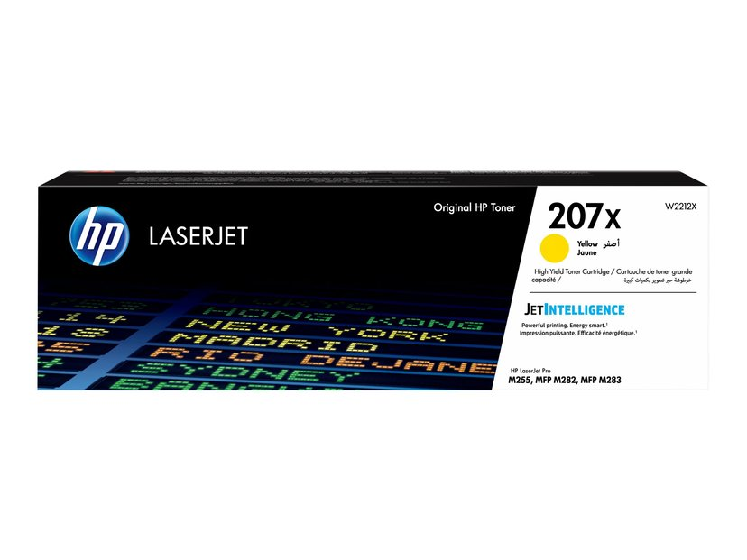 HP Toner Geel 207X 2450 Pages