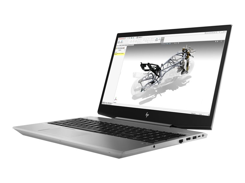 """HP ZBook 15v G5 Mobile Workstation Core i7 16GB 512GB SSD 15.6"""" P600"""