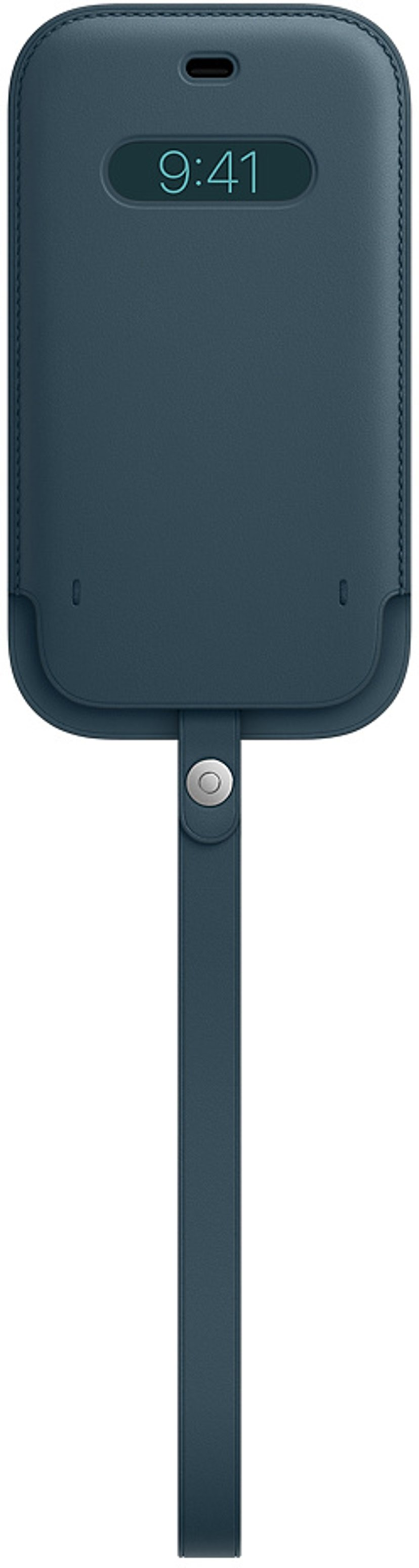Apple Sleeve with MagSafe iPhone 12, iPhone 12 Pro Baltisk blå