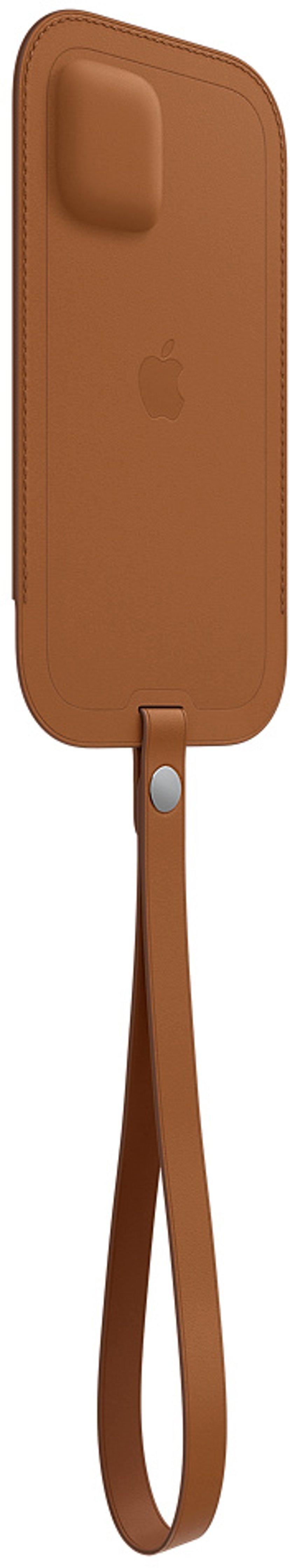 Apple Sleeve with MagSafe iPhone 12 Pro, iPhone 12 Sadelbrun