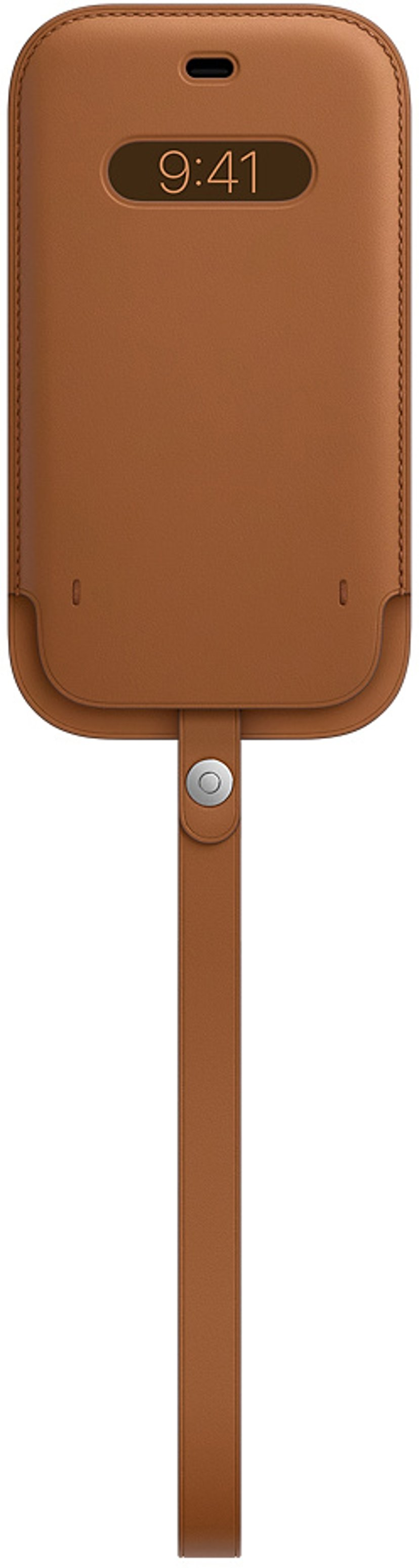 Apple Sleeve with MagSafe iPhone 12 Mini Sadelbrun