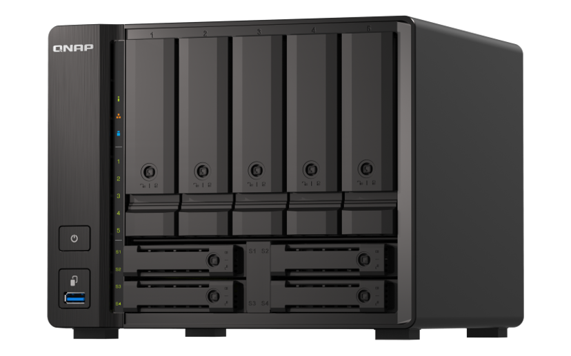 QNAP TS-H973AX-32G 0TB NAS-server