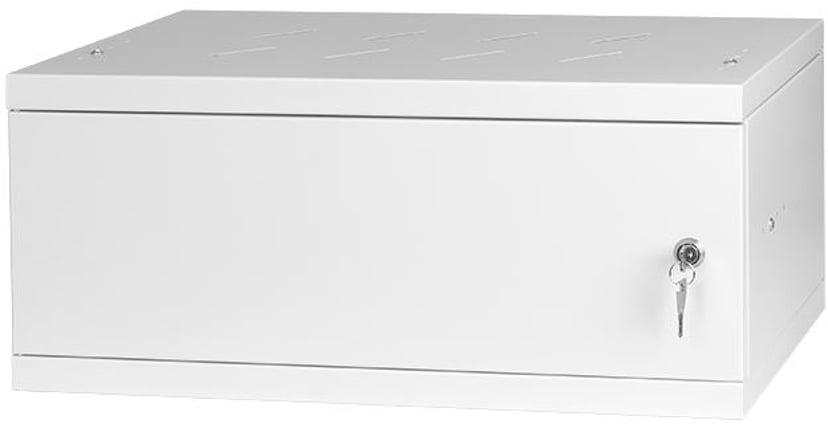 """Direktronik Wall Rack 19"""" 4U 35cm Metal Door Grey"""
