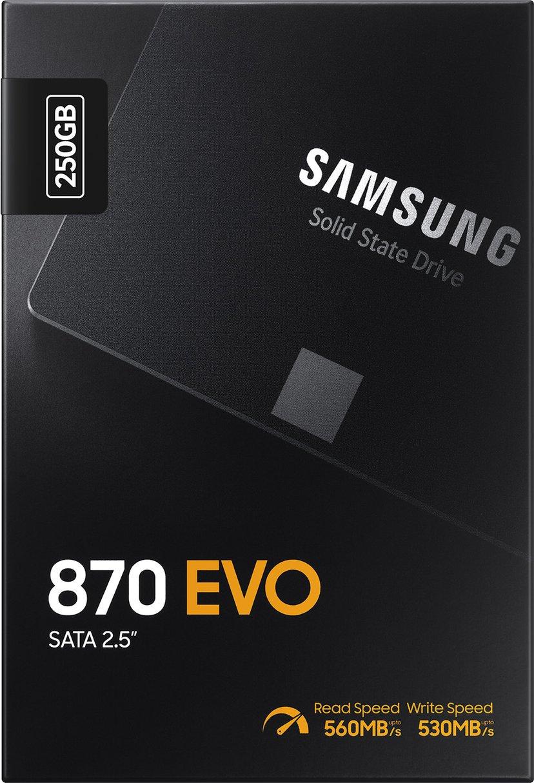 "Samsung 870 EVO 250GB Serial ATA-600 2.5"""