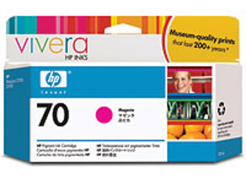 HP Bläck Magenta No.70 - DJ Z2100
