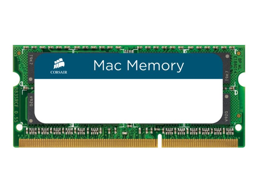 Corsair Mac Memory 8GB 1,333MHz DDR3 SDRAM SO DIMM 204-PIN