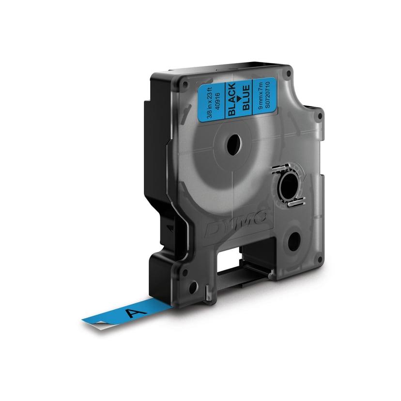 Dymo Tape D1 9mm Black/Blue
