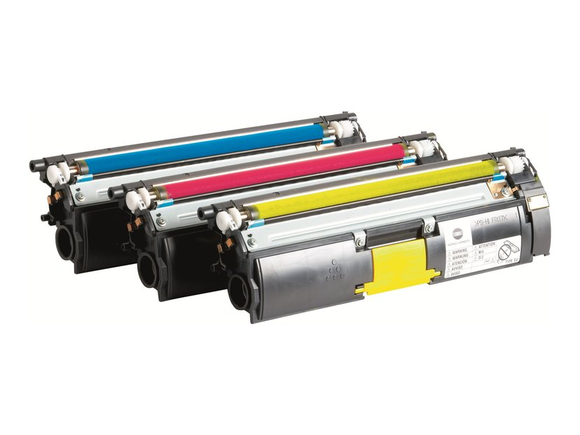 Konica Minolta Toner Kit (C/M/G) 12k - MC5550/70
