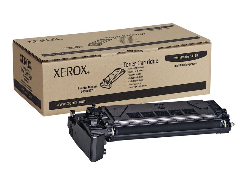 Xerox Toner Svart 8k - WC 4118
