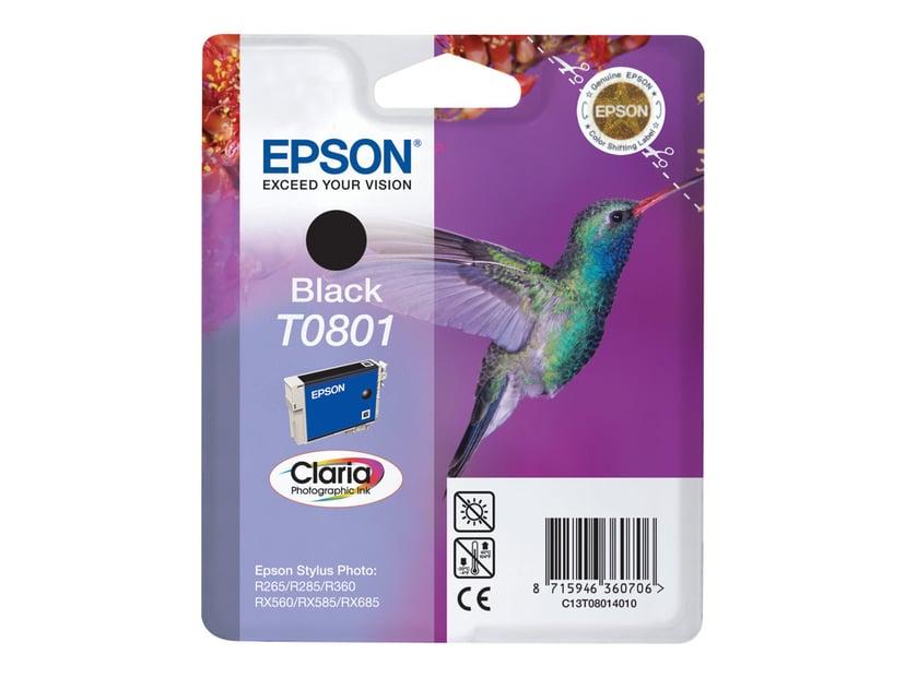 Epson Blæk Sort T0801 R265/360/RX560