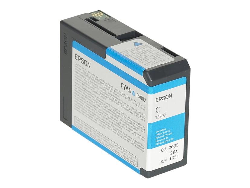 Epson Blekk Cyan T5802 - PRO 3800