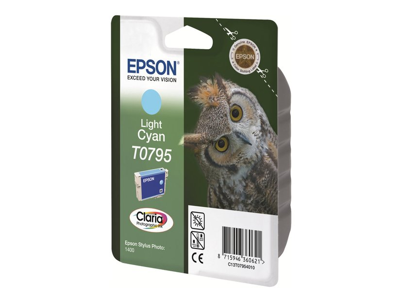 Epson Inkt Ljus Cyaan - STYLUS Foto 1400