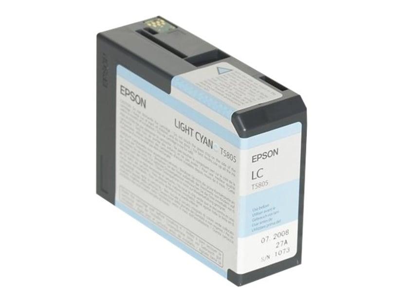 Epson Blekk Ljus Cyan T5805 - PRO 3800