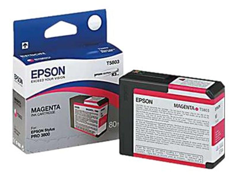 Epson Blekk Magenta T5803 - PRO 3800