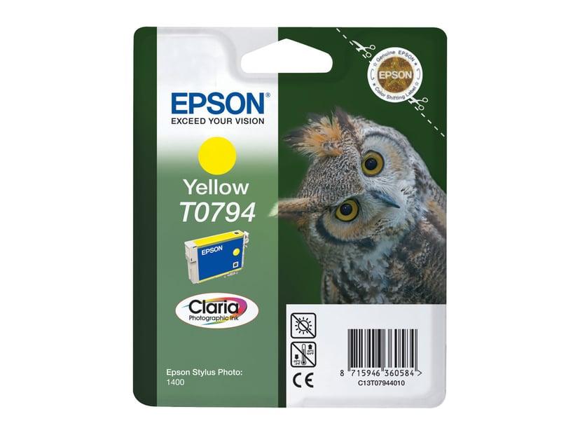 Epson Blekk Gul - STYLUS Foto 1400