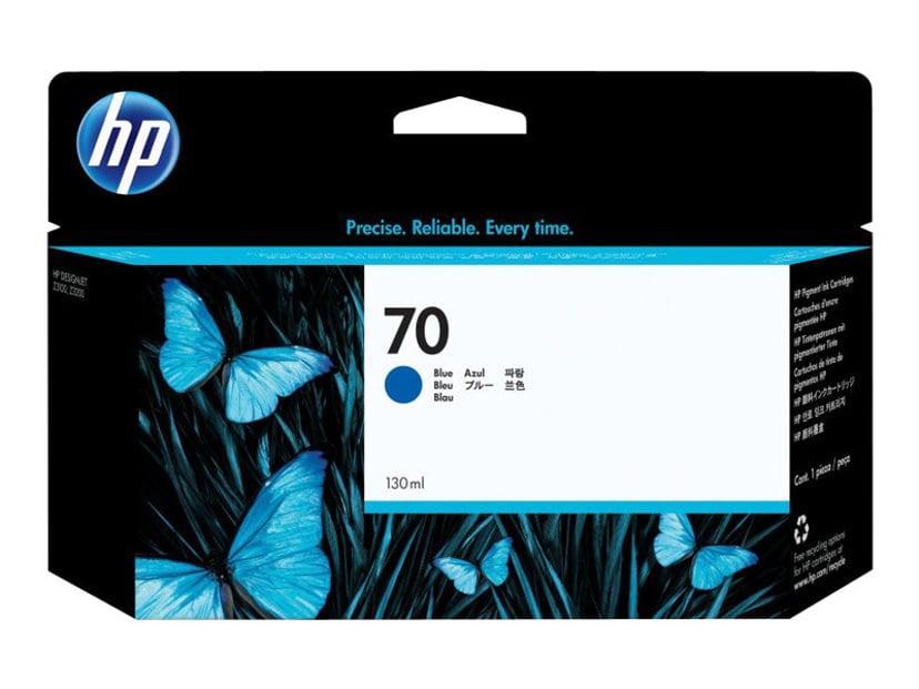 HP Blekk Blå No.70 - DJ Z3100