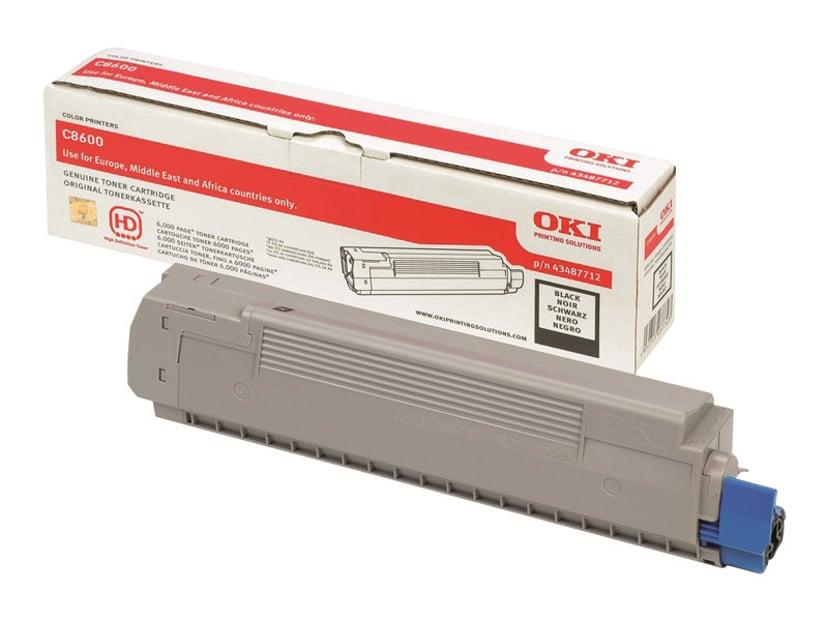 OKI Toner Sort - C8600