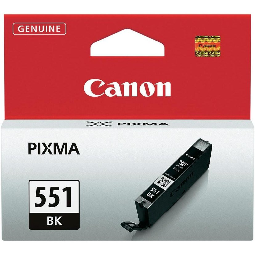 Canon Blekk Svart CLI-551BK