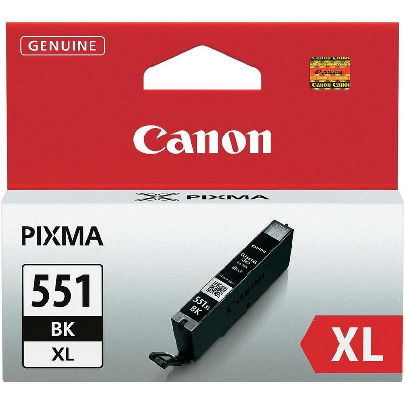 Canon Inkt Zwart CLI-551BK XL