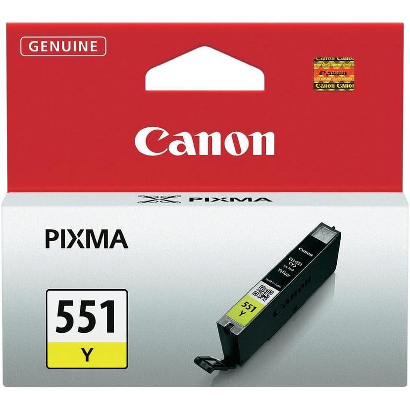 Canon Blekk Gul CLI-551Y