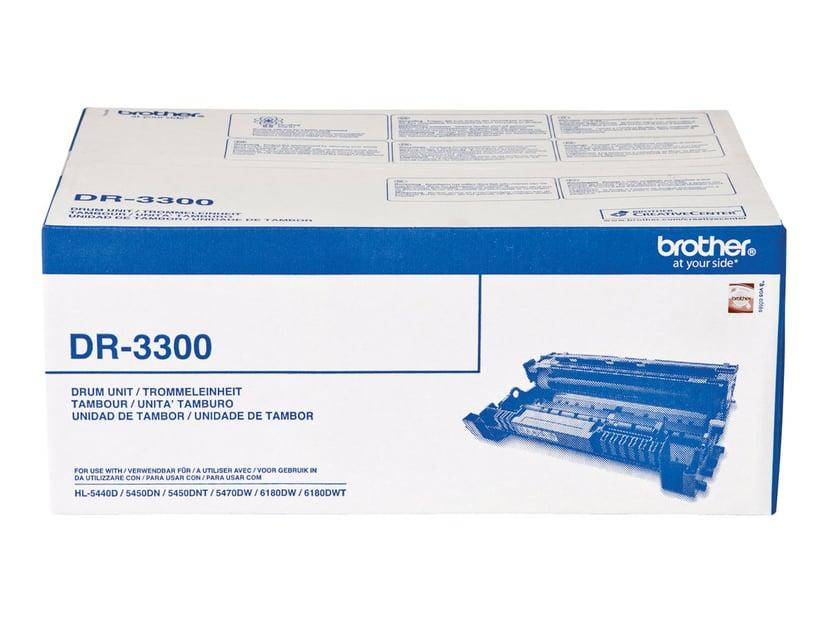 Brother Trommel Svart DR3300, 30K - HL-5450DN
