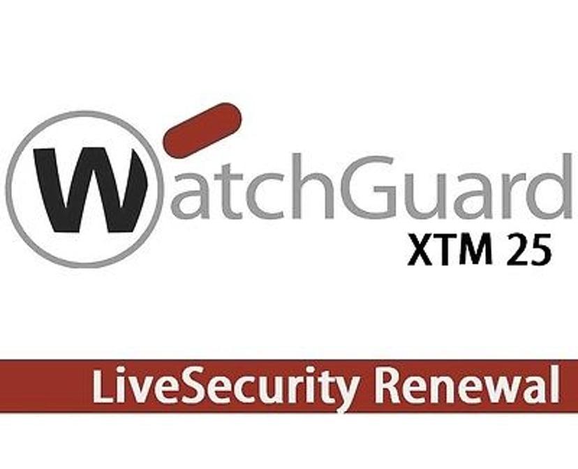 Watchguard Xtm 25 1YR Livesecurity Renewal