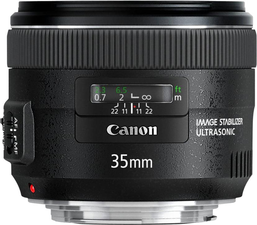 Canon EF laajakulmalinssi