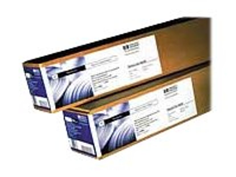 """HP Papir Coated 36"""" (914mm) A0 45,7m 90g Rulle"""