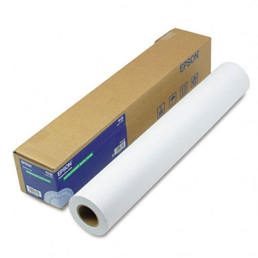 """Epson Papper Presentation Hires 24"""" (A1) Rulle 120G"""