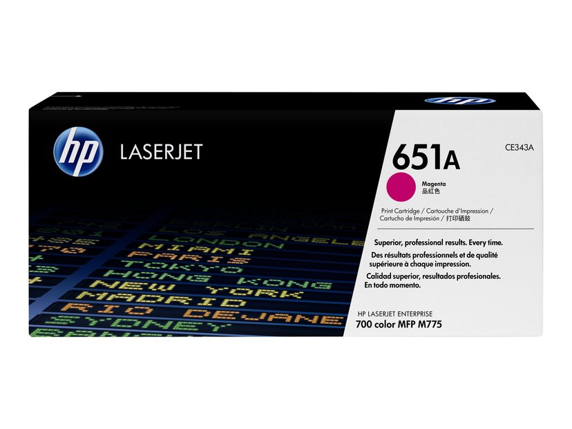 HP Toner Magenta 651A - CE343A
