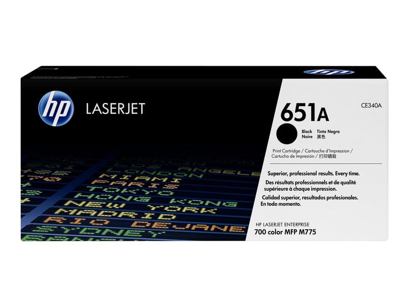 HP Toner Zwart 651A - CE340A