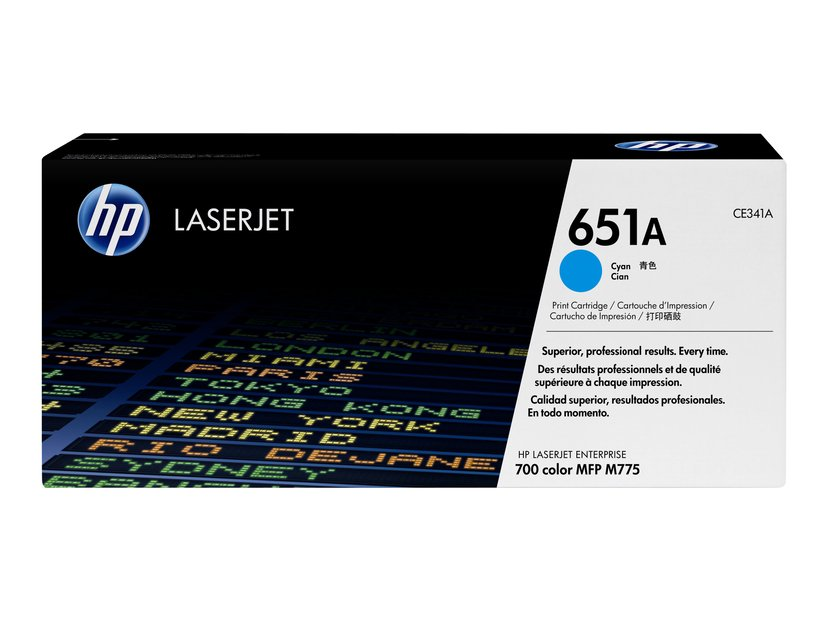 HP Toner Cyan 651A - CE341A