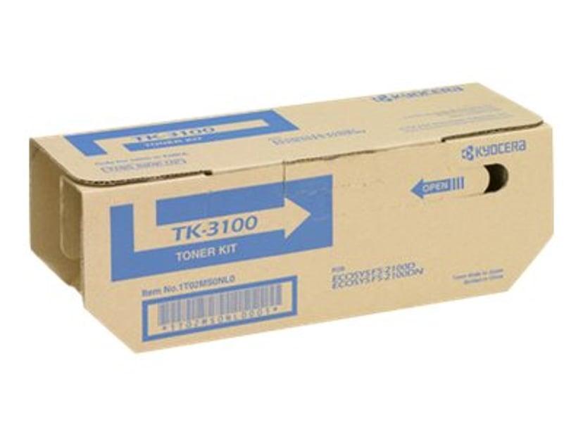 Kyocera Toner Svart 12,5k TK-3100 - FS-2100DN