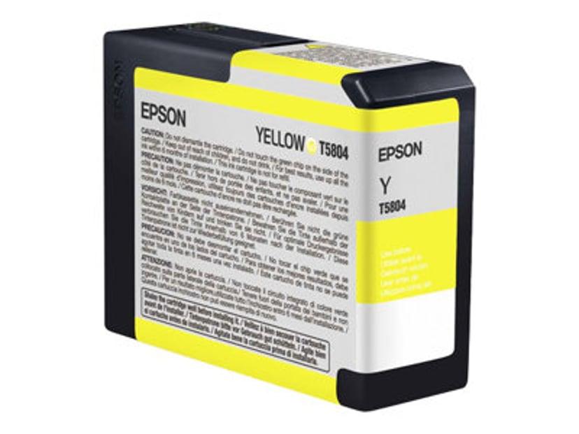 Epson Muste Keltainen T5804 - PRO 3800