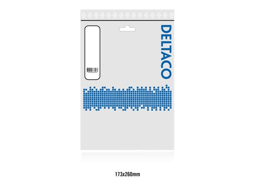 Deltaco Displayport-Kabel DisplayPort Mini Hane 20-stifts DisplayPort Hane 5m