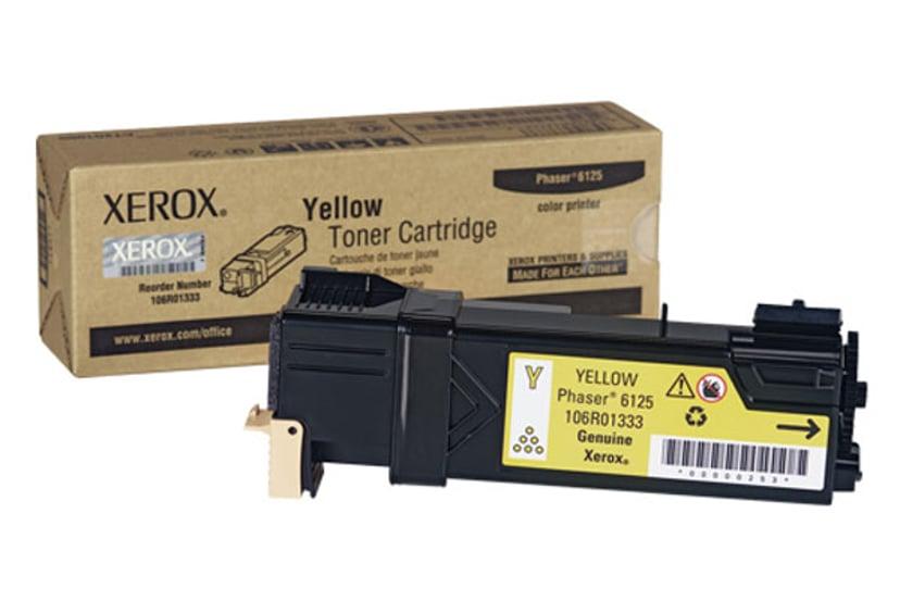 Xerox Värikasetti Keltainen 1k - Phaser 6125