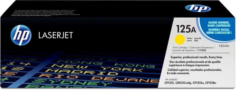 HP Värikasetti Keltainen 1.4K - CB542A