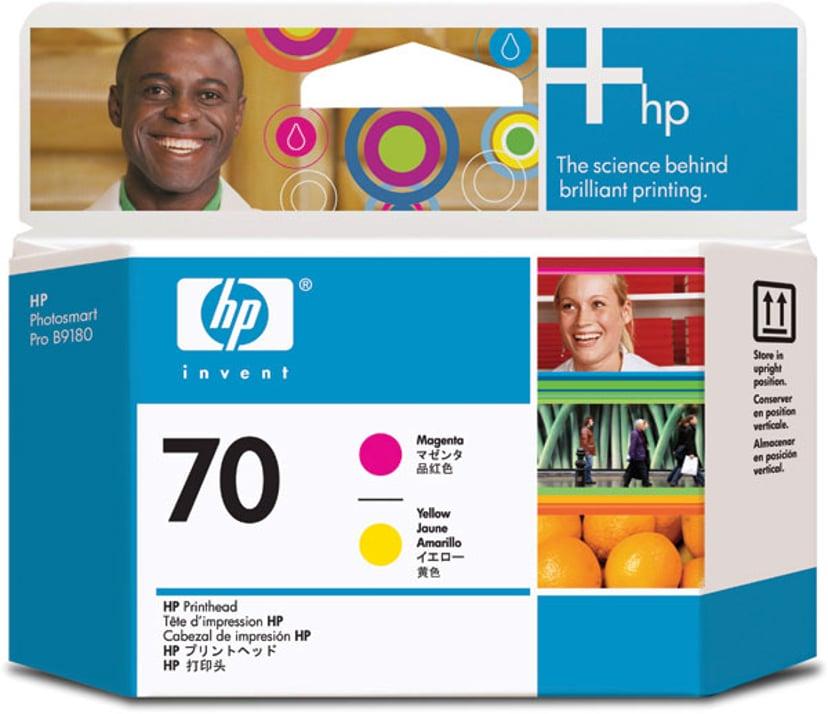 HP Skriverhode NO.70 Magenta & Gul - DJ Z2100